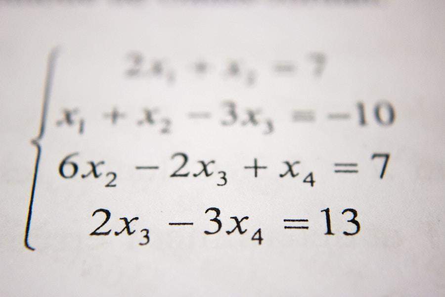 Math courses